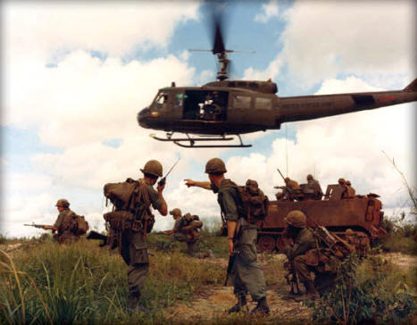 US Soldiers In Vietnam, North of Sigon 1969