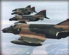 F4 Phantoms in Full Camo.. Boing Photo